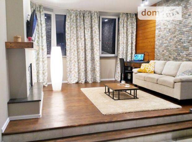 двухкомнатная квартира в Киеве, район Печерский, на ул. Драгомирова в аренду на долгий срок помесячно фото 1