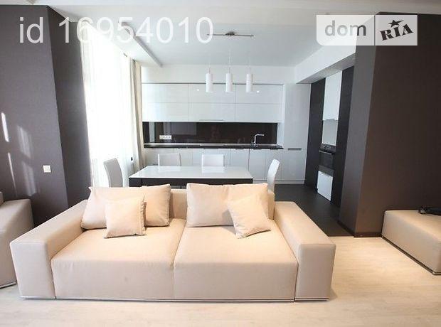 двухкомнатная квартира с мебелью в Киеве, район Печерский, на ул. Драгомирова 20, в аренду на долгий срок помесячно фото 1