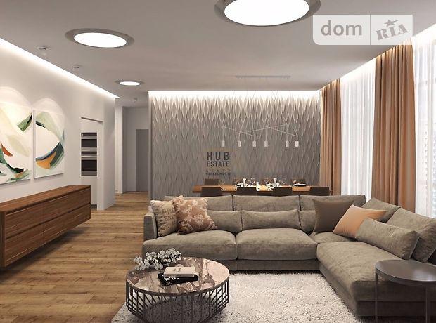 четырехкомнатная квартира с мебелью в Киеве, район Печерский, на ул. Драгомирова 64 в аренду на долгий срок помесячно фото 1
