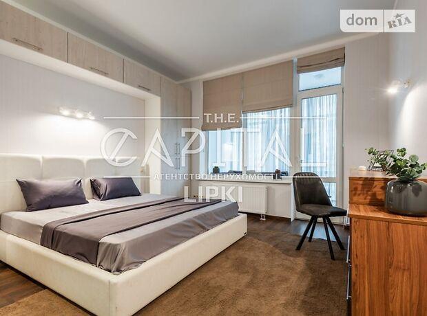 трехкомнатная квартира с мебелью в Киеве, район Печерский, на ул. Драгомирова 16б в аренду на долгий срок помесячно фото 1