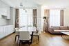 трехкомнатная квартира с мебелью в Киеве, район Печерский, на ул. Драгомирова 7 в аренду на долгий срок помесячно фото 4