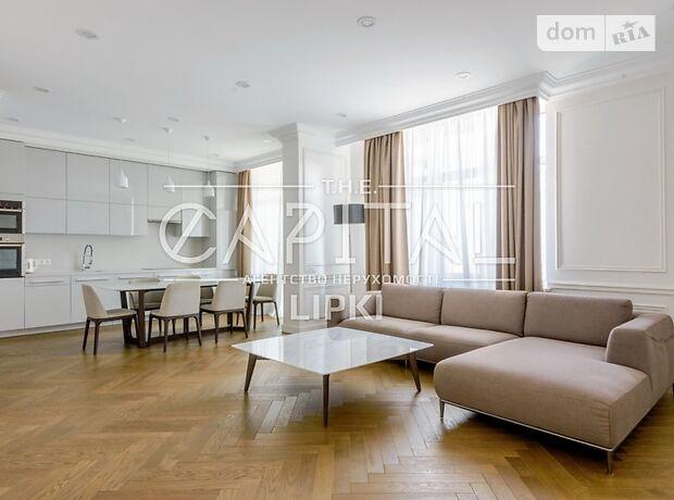 трехкомнатная квартира с мебелью в Киеве, район Печерский, на ул. Драгомирова 7 в аренду на долгий срок помесячно фото 1
