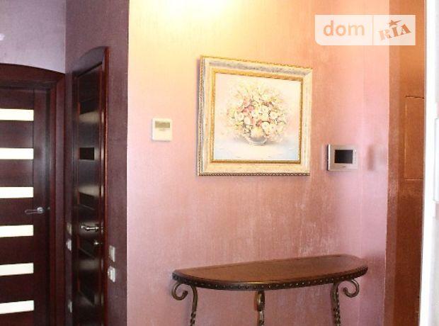 трехкомнатная квартира с мебелью в Киеве, район Печерский, на Драгомирова улица, 3 в аренду на долгий срок помесячно фото 1