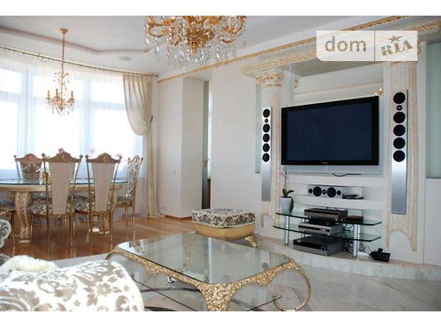 четырехкомнатная квартира в Киеве, район Печерский, на бул. Леси Украинки в аренду на долгий срок помесячно фото 1