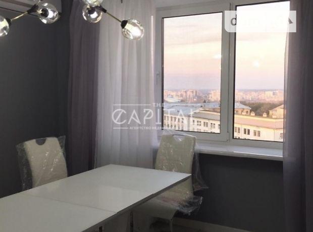 трехкомнатная квартира с мебелью в Киеве, район Печерский, на ул. Леваневского 14, в аренду на долгий срок помесячно фото 1