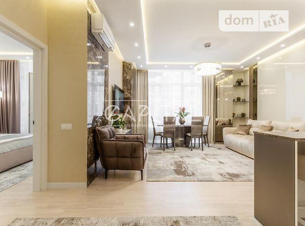 трехкомнатная квартира с мебелью в Киеве, район Печерский, на ул. Саперное Поле 5, в аренду на долгий срок помесячно фото 1