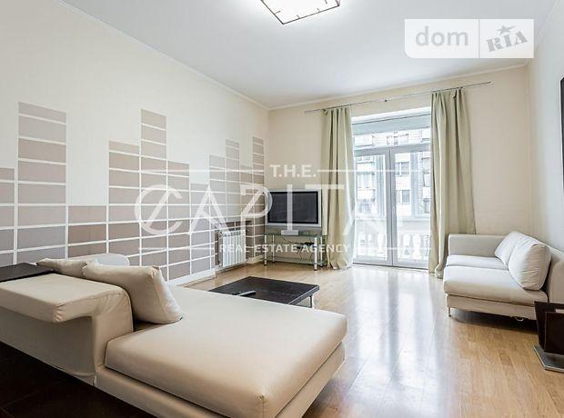 двухкомнатная квартира с мебелью в Киеве, район Печерский, на ул. Шелковичная 32-34, в аренду на долгий срок помесячно фото 1