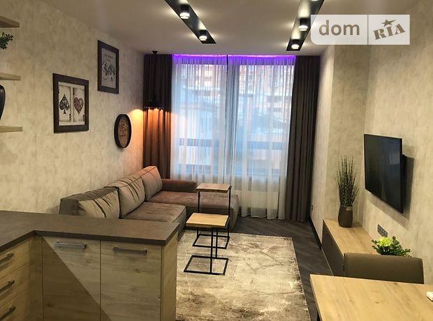двухкомнатная квартира с мебелью в Киеве, район Печерский, на Деловая 1, в аренду на долгий срок помесячно фото 1