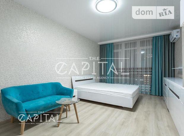 однокомнатная квартира с мебелью в Киеве, район Печерский, в аренду на долгий срок помесячно фото 1