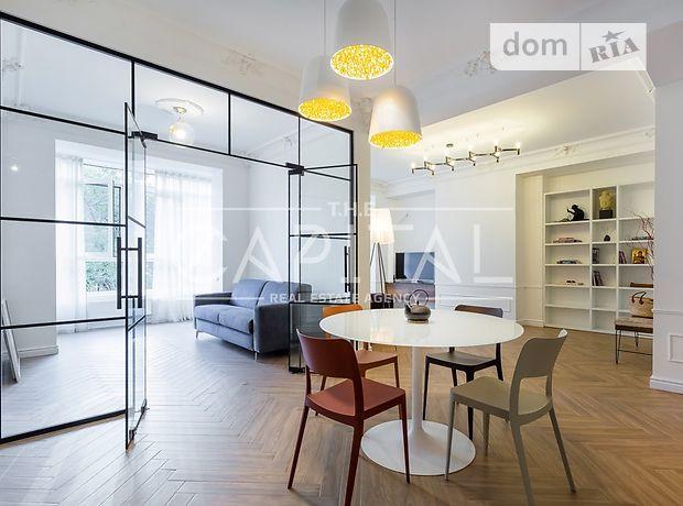 трехкомнатная квартира с мебелью в Киеве, район Печерский, на бул. Леси Украинки 7в, в аренду на долгий срок помесячно фото 1
