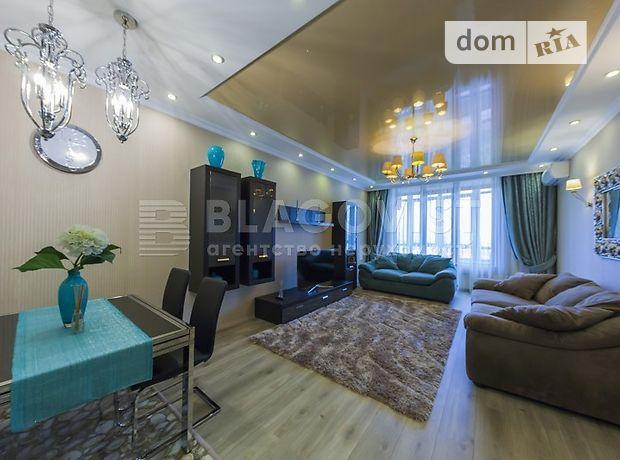 трехкомнатная квартира с мебелью в Киеве, район Шевченковский, на ул. Жилянская 59, в аренду на долгий срок помесячно фото 1