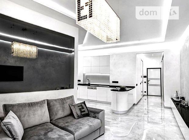 двухкомнатная квартира с мебелью в Киеве, район Шевченковский, на Златоустовская 47-49, в аренду на долгий срок помесячно фото 1