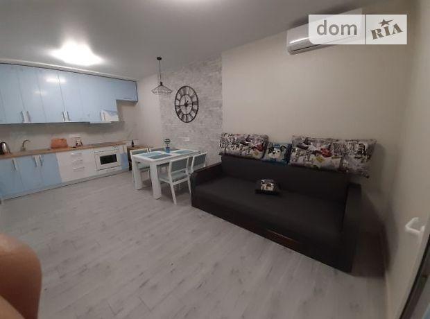 двухкомнатная квартира с мебелью в Киеве, район Соломенский, на ул. Богдановская 7в, в аренду на долгий срок помесячно фото 1