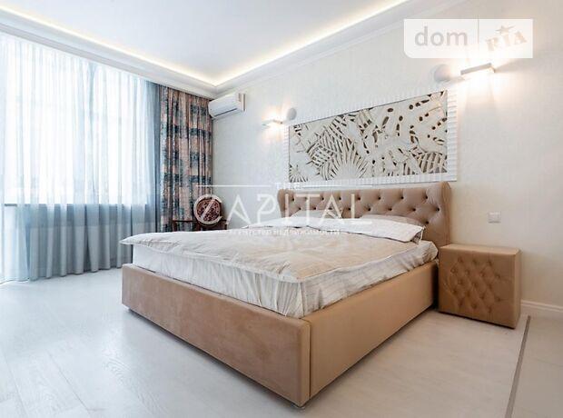 трехкомнатная квартира с мебелью в Киеве, район Соломенский, на ул. Кудряшова 16, в аренду на долгий срок помесячно фото 1