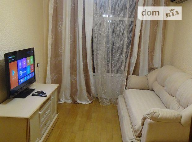 двухкомнатная квартира с мебелью в Киеве, район Соломенский, на просп. Воздухофлотский 33/2, в аренду на долгий срок помесячно фото 1