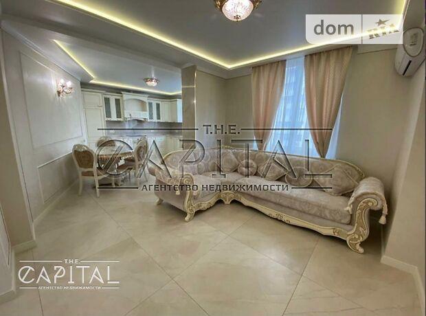 трехкомнатная квартира с мебелью в Киеве, район Соломенский, на Просвещения ул 16 в аренду на долгий срок помесячно фото 1