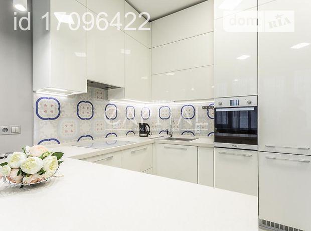 двухкомнатная квартира с мебелью в Киеве, на ул. Трускавецкая 2а, в аренду на долгий срок помесячно фото 1