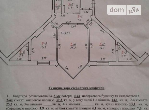 Долгосрочная аренда квартиры, 2 ком., Львов, р‑н.Галицкий, Зеленая улица