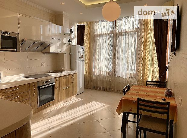 двухкомнатная квартира с мебелью в Одессе, район Большой Фонтан, на Фонтанская дор. в аренду на долгий срок помесячно фото 1