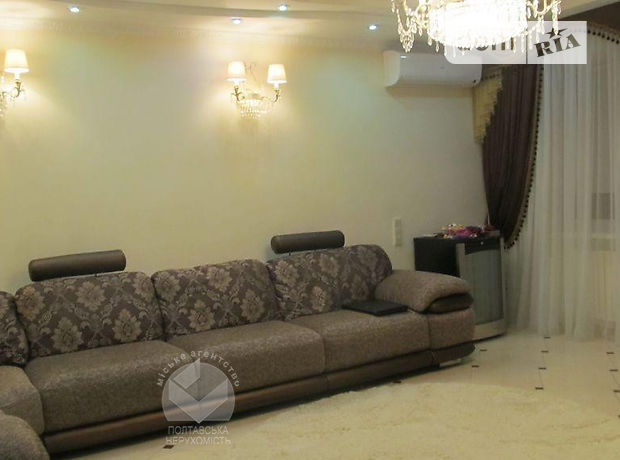 трехкомнатная квартира с мебелью в Полтаве, район Центр, в аренду на долгий срок помесячно фото 1