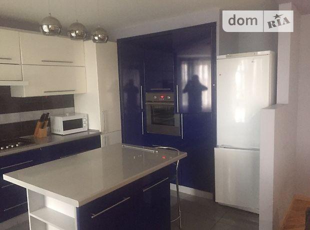 трехкомнатная квартира с мебелью в Тернополе, район Дружба, в аренду на долгий срок помесячно фото 1