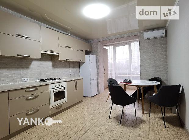 однокомнатная квартира с ремонтом в Виннице, район Подолье, на Прогова в аренду на долгий срок помесячно фото 1