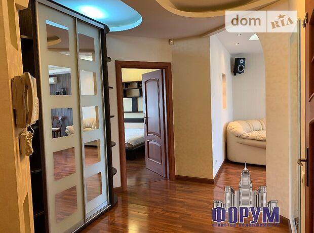 трехкомнатная квартира с мебелью в Запорожье, район Днепровский (Ленинский), на пр. Соборный в аренду на долгий срок помесячно фото 1
