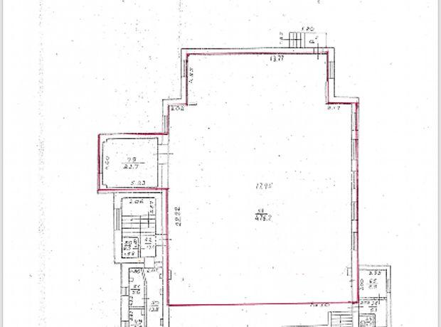 Долгосрочная аренда офисного помещения, Днепропетровск, Пряворницкого