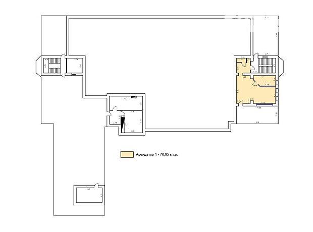 Оренда офісного приміщення в Харкові, проспект Науки 9А, приміщень - 1, поверх - 6 фото 1