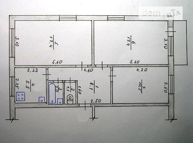 Аренда офисного помещения в Житомире, Михаила Грушевского (Котовского) улица, помещений - 4, этаж - 1 фото 1