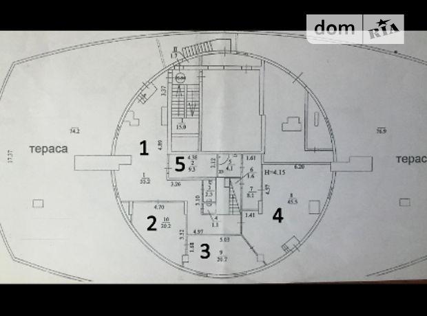Аренда офисного помещения в Киеве, Раисы Окипной улица 10Б, помещений - 7, этаж - 23 фото 1