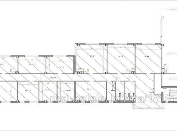 Аренда офисного помещения в Львове, Железнодорожная улица 7, помещений - 10, этаж - 2 фото 1