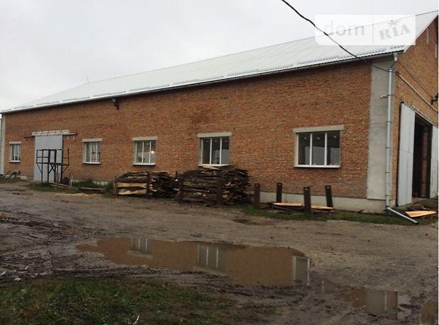 Производственное помещение в Тернополе, сдам в аренду по, в селе Плотыча, цена: договорная за объект фото 1