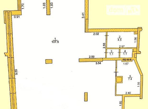 Торговая площадь в Тернополе, сдам в аренду по героїв Євромайдану, район Центр, цена: 36 300 грн за объект фото 1