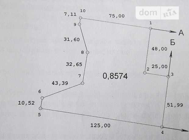 Аренда земли сельскохозяйственного назначения в селе Репинцы, цена: 1 214 грн за объект фото 1
