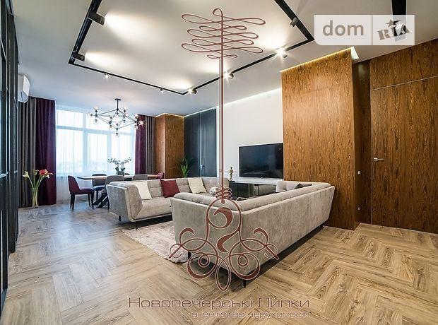 четырехкомнатная квартира с мебелью в Киеве, район Печерский, на ул. Драгомирова в аренду на долгий срок помесячно фото 1