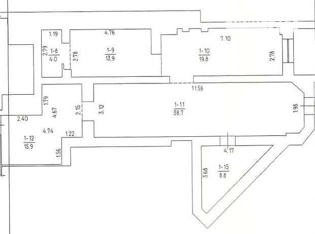 Торговая площадь в Черкассах, сдам в аренду по Шевченко бульвар, район Седова, цена: договорная за объект фото 1