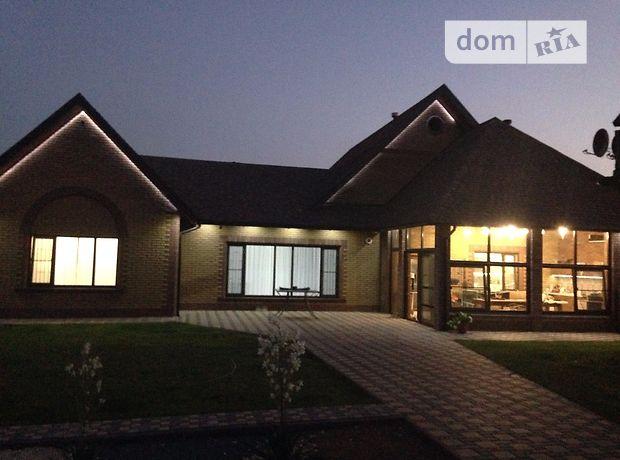 одноэтажный дом с камином, 256 кв. м, поротерм. Продажа в Запорожье район Бородинский фото 1
