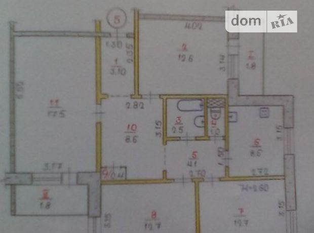 Продажа квартиры, 4 ком., Днепропетровская, Кривой Рог, р‑н.Долгинцевский, ул Мухина 17
