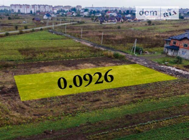 Земля під житлову забудову в селі Крихівці, площа 9.26 сотки фото 1