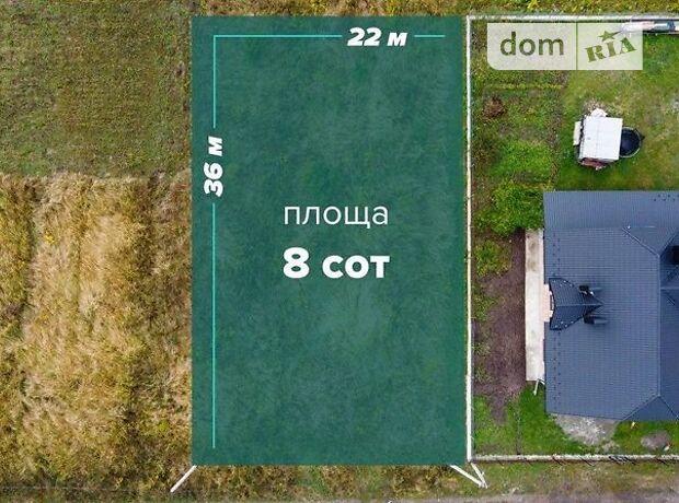 Земля під житлову забудову в селі Угорники, площа 8 соток фото 1