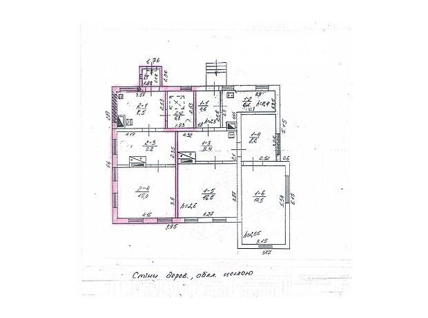 Продажа части дома, 34м², Черкассы, р‑н.Дахновка