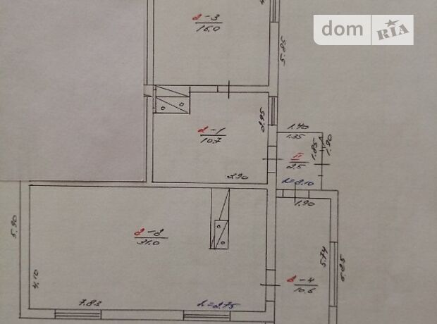 Продажа части дома в Христиновке, Шевченко 58а, район Христиновка, 3 комнаты фото 1
