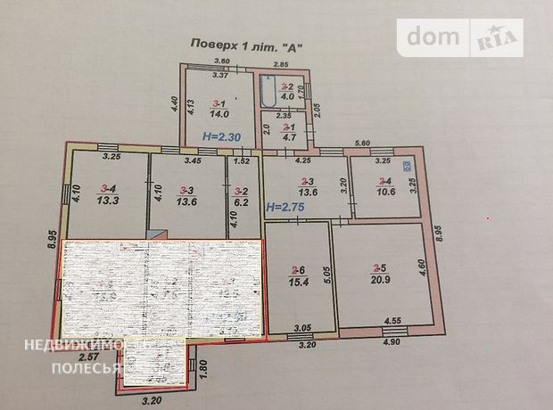 Продажа части дома, 37м², Житомир, р‑н.Центр, Пивоварный переулок