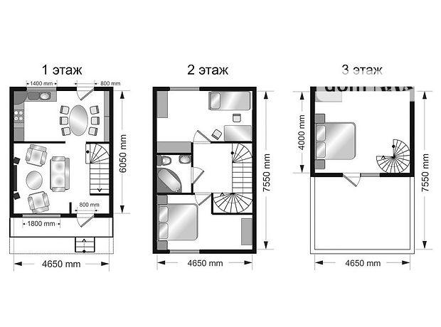 Продажа части дома, 107м², Одесса, р‑н.Киевский