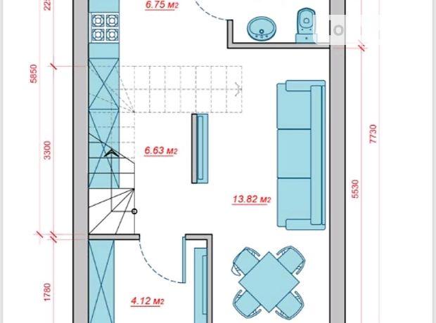 Продажа части дома в Одессе, улица Алмазная, район Таирова, 3 комнаты фото 1