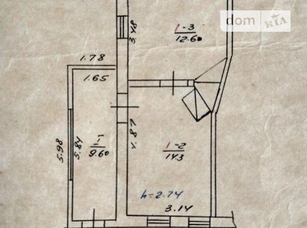 Продажа части дома, 38.7м², Полтава, р‑н.маг. Океан, Баяна, дом 24