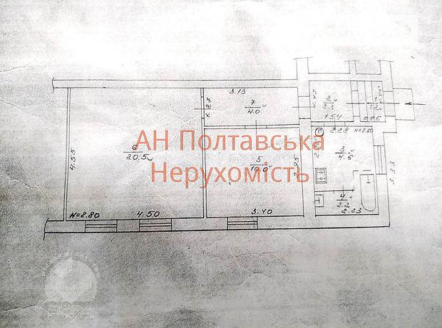 Продажа части дома, 44м², Полтава