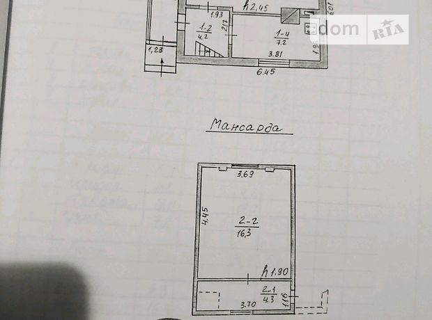 двухкомнатная дача с цокольным этажом, 93 кв. м, кирпич. Продажа в Подгородном (Тернопольская обл.) фото 1