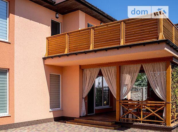 двухэтажный дом с террасой, 125 кв. м, газобетон. Продажа в Кирилловке (Запорожская обл.) фото 1